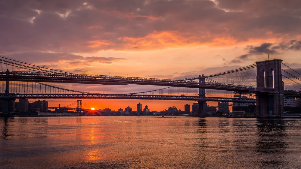 Three Bridge Sunrise