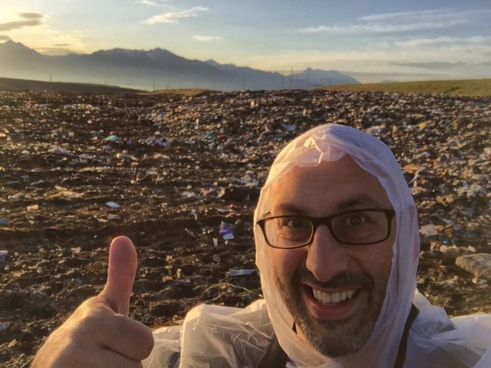 Geoff Selfie in Landfill