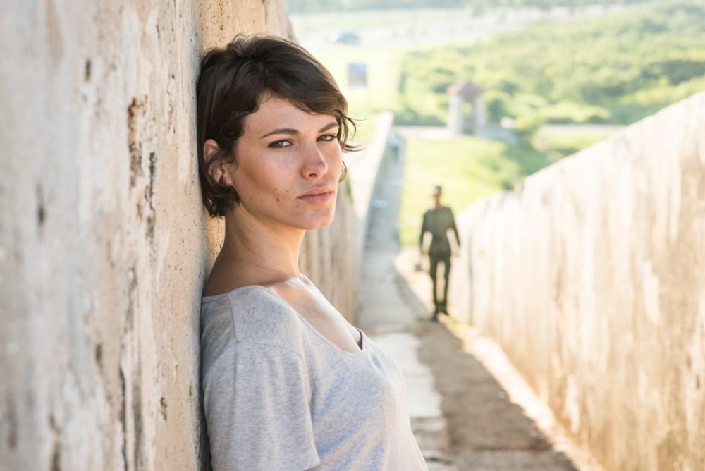Diana, a portrait taken in Cuba.