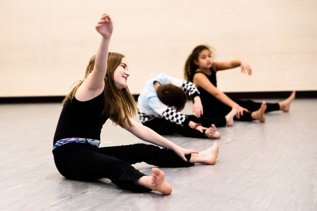 Another Modern Dance Class at Local Motion Project