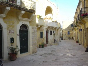 9. Rabat the old name for Gozo's main town, Victoria built entirely of limest