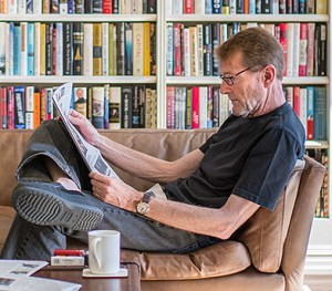 Lee Child reading
