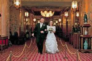 Wedding in Brighton's Royal Pavilion
