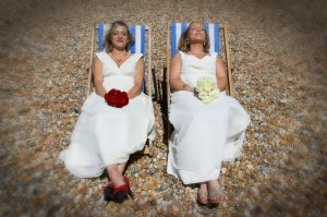 The Brides on the Beach