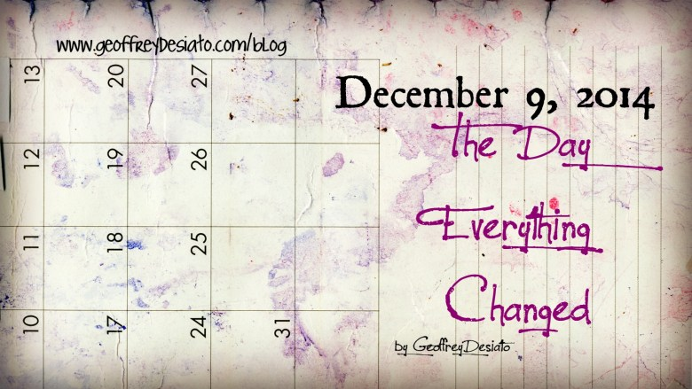 December | The Day Everything Changed