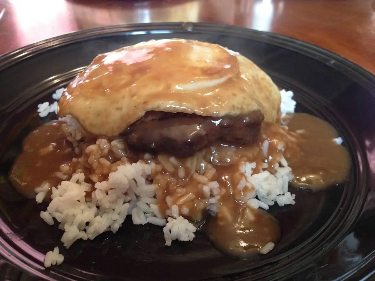 Hawaiian Style Loco Moco Recipe Geoffrey Shilling