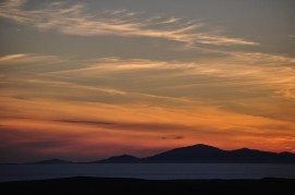 Sunset over south Harris