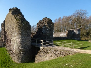 White Castle outer gate