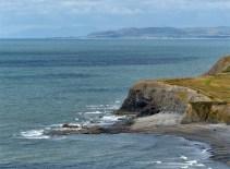 Across Clarach Bay