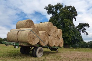 Big bales at Croft