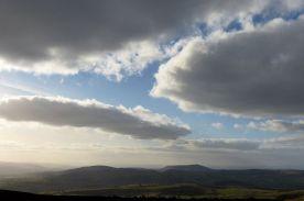 Corndon cloudscape
