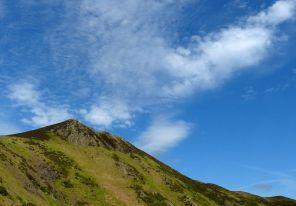 A rocky peak