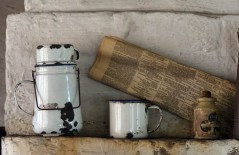 Still life with jerrycan