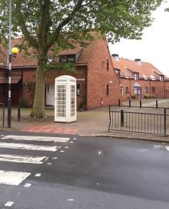Phone box and Lurk Lane