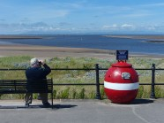 Man and buoy