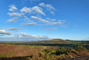 The Lawley and the distant Wrekin