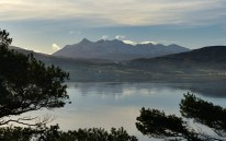 The Cuillins from The Lump