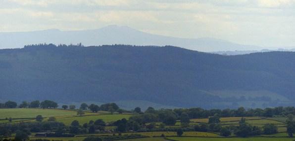 55 miles distant: Brecon Beacons