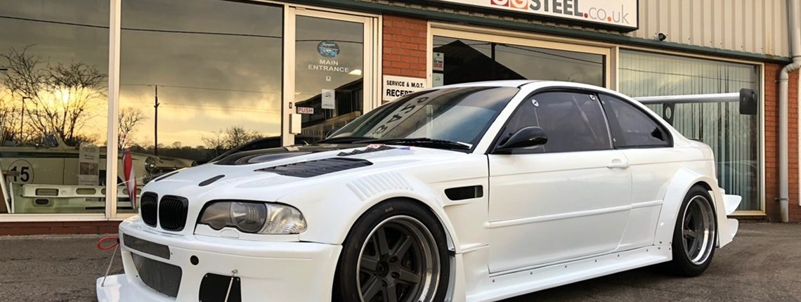 Bmw E46 M3 Csl Race Track Car For Sale Hire At Geoff Steel