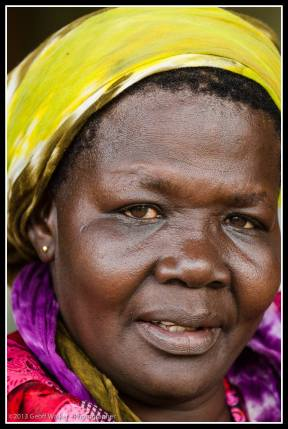 Big mumma Santa - a beautiful woman, Irene's maternal grandmother