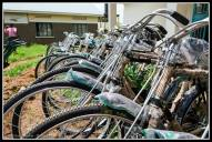 Bicycles from the President for the elders of Pader.