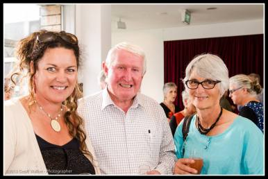 Aratoi trust members Steph Turner, Fraser Mailman and Lydia Wevers.