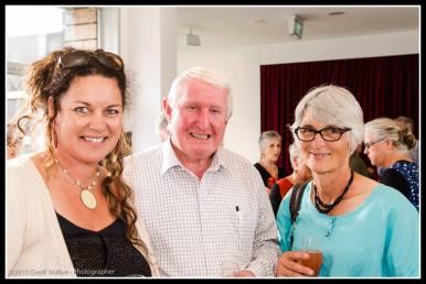 Aratoi trust members Steph Turner, Fraser Mailman and Lydia Wevers.