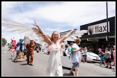 Greytown Xmas Parade - angels!!!