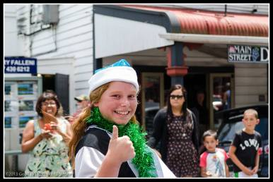 Greytown Xmas Parade - the A1 team...