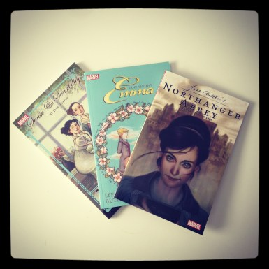 2015 08-13 Jane Austen COMICS!