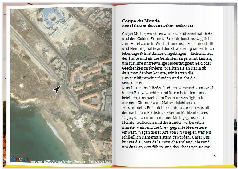 Livro Virtual com Google Earth