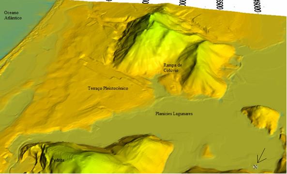 Modelo Digital de Terreno / Modelo de Declividade (2/4)