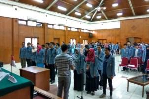 Pelantikan BEM dan DPM HMPG Periode 2017/2018