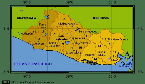 Departamentos de El Salvador