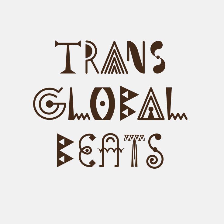TransGlobalBeats, Schriftmarke, Brand, einfarbig,