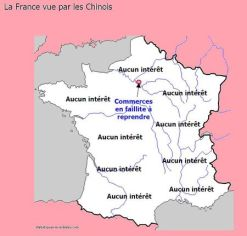 carte-france-vue-chinois