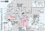 La piraterie maritime dans le monde