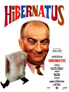 Hibernatus, cet homme congelé qui refait surface des années plus tard... Un film d'Édouard Molinaro sorti en 1969.