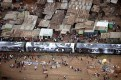 Kenya, Nairobi, 02 February 2009 Shanty town of Kibera.