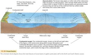 Major Relief Features of the Earth's Surface