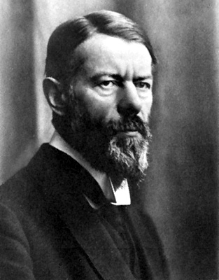 Max Weber - Geography