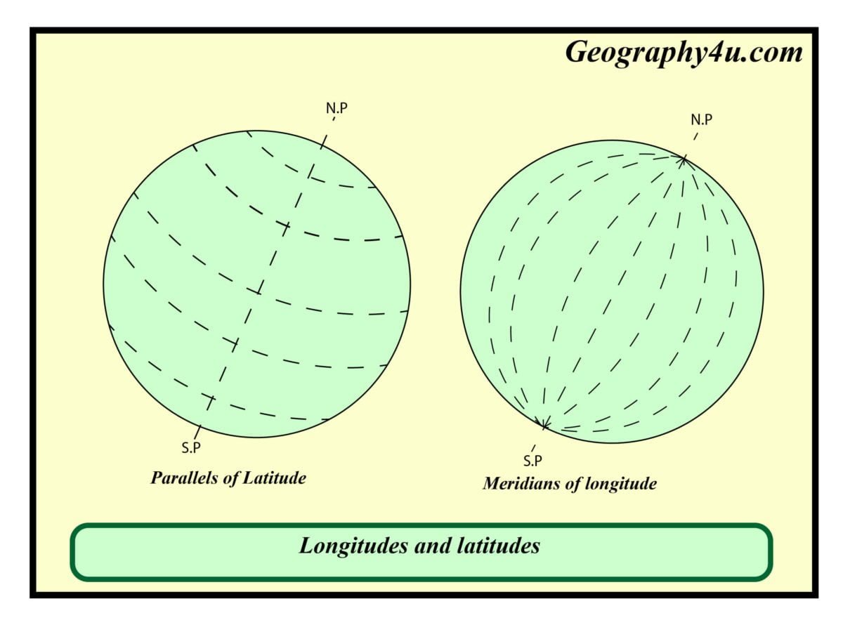 What Is Longitude And Latitude In Map