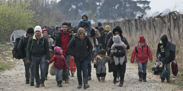 CORRECTION Macedonia Greece Europe Migrants