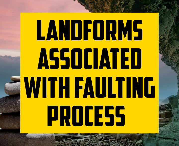 Landforms associated with faulting process