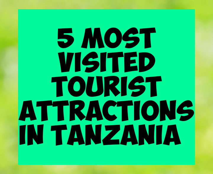 5 most visited tourists attractions in tanzania
