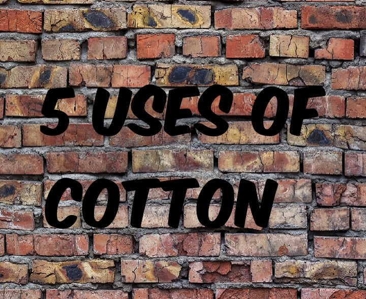 5 uses of cotton