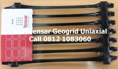 Jual Geogrid Uniaxial merk Tensar, tipe RE520, RE540, RER560, RE580