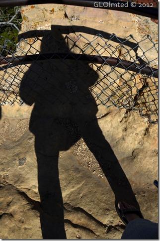 01e Gaelyn's shadow at Pt Imperial Walhalla Plateau NR GRCA NP AZ (678x1024)