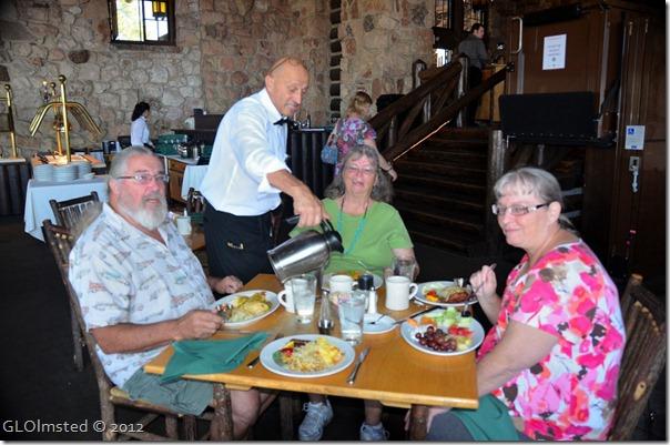 01 Chuck, Luigi, Geri & Karen breakfast at Grand Lodge NR GRCA NP AZ (1024x678)