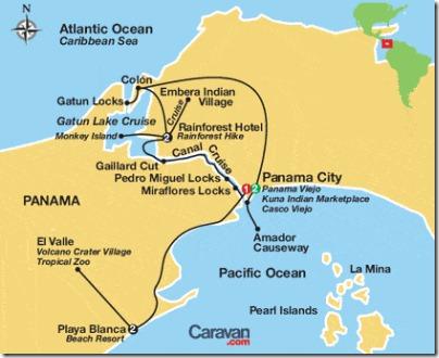 02 caravan tour panama canal plus